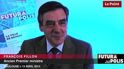 """François Fillon : """"Je rêve de pouvoir me déplacer instantanément"""""""