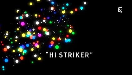 Fête des lumières : Hi Striker, passerelle du palais de justice