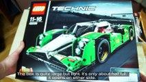 'Lego Technic 42039 24 Hours Race Car' Unboxing, Speed Build & Review | Sariel's LEGO Technic Den