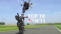 Top 10 Extreme Sports Videos  N°11! : STUNT, MTB, SLACKLINE, SKI, DANCE, SKYDIVING, KITESURF, SKATE, SNOWBOARD, AIRCRAFT