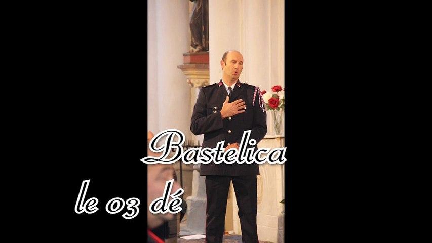 Messe des pompiers pour la Sainte Barbe à Bastelica le 3 décembre 2014