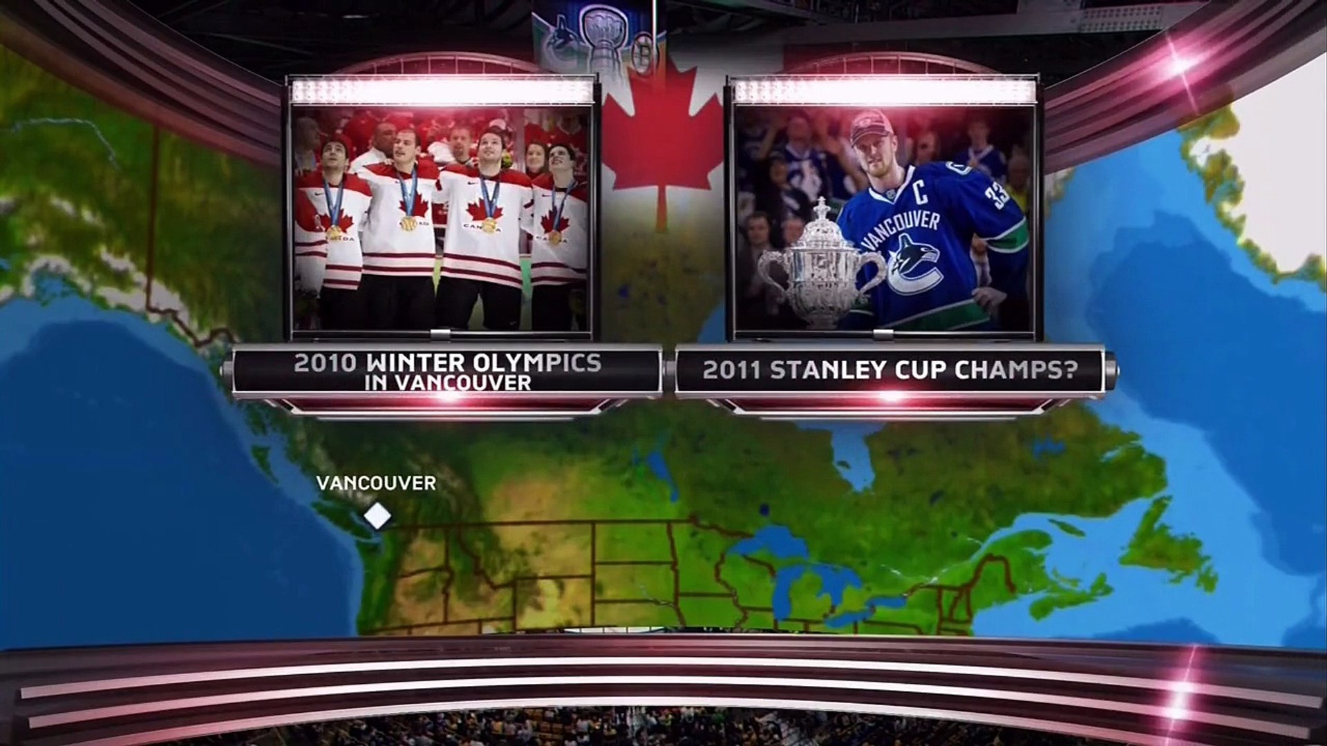 NHL 2011 Stanley Cup Final G6 - Boston Bruins vs Vancouver Canucks  2011-06-13