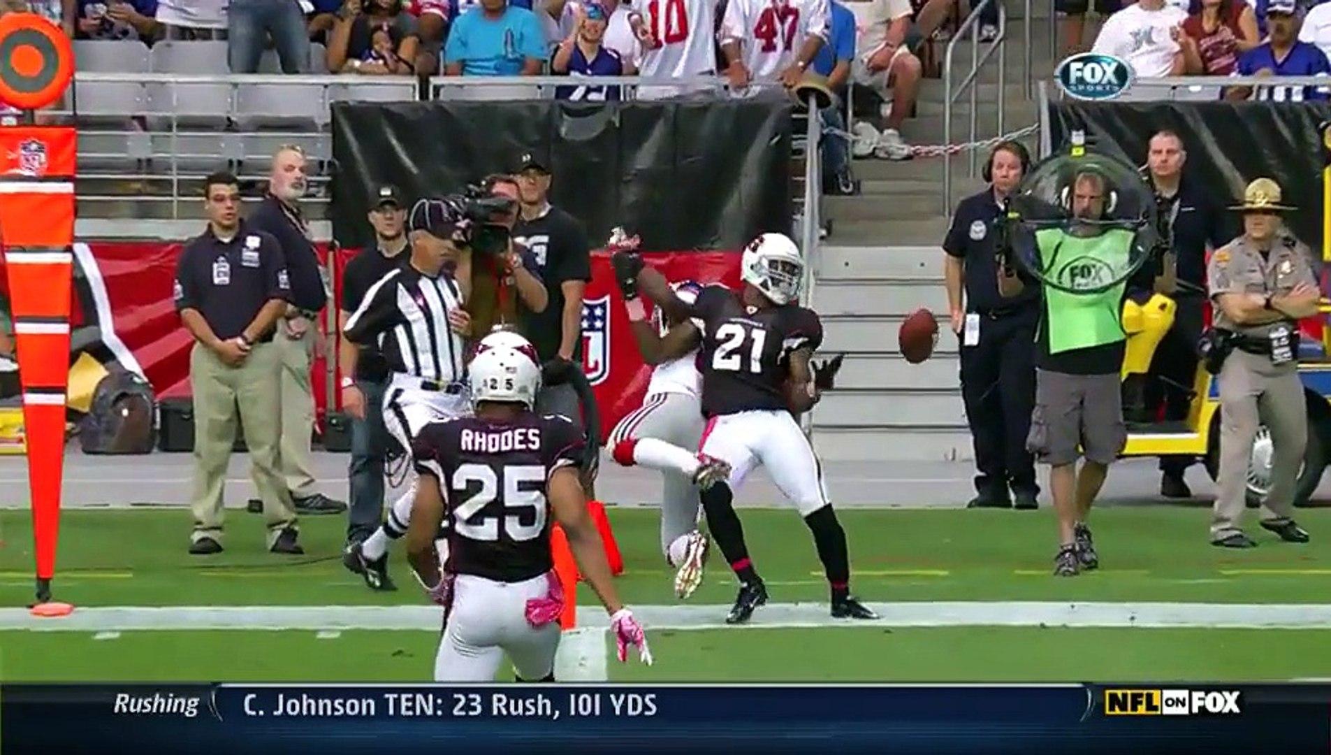 NFL 2011-12 W04 - Arizona Cardinals vs New York Giants 2011-10-02