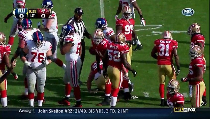 NFL 2011-12 W10 - San Francisco 49ers vs New York Giants 2011-11-13