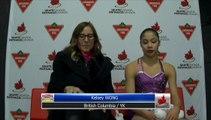 Sarah Tamura BC/YK - Junior Women Free Program (REPLAY)