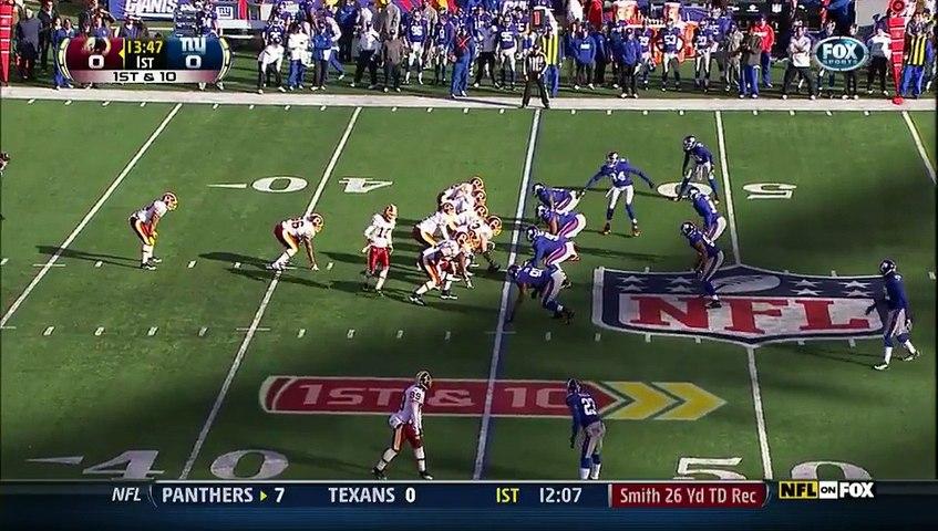 NFL 2011-12 W15 - New York Giants vs Washington Redskins 2012-12-18