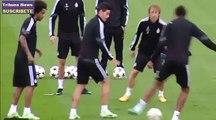 Cristiano Ronaldo enloquece con caño de Marcelo a James Rodriguez Real Madrid