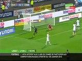 2014 Ligue 1 J16 LYON REIMS 2-1 le 04/12/2014