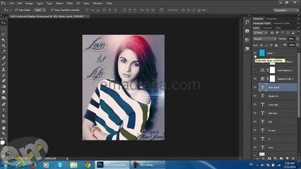 Marge Layers and Copy Image on New Layer with Keyboard Photoshop Quick Tips Speed up Your Work