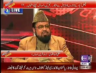 controversial remarks by mufti God does NOT decide creation of children, ONLY parents decide it. Mufti Abdul Qavi