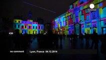 Fête des Lumières festival lights up French city of Lyon