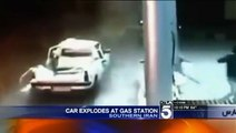 Compressed Natural GAS Exploded in IRAN - CNG Explosion - Please Test your GAS KITS Regularly for you and your family safity