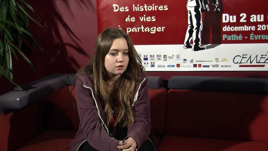 Léa Deschamps - Festival Européen du Film d'Education 2014
