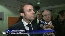 Privatisation de l'aéroport de Toulouse: Macron réagit