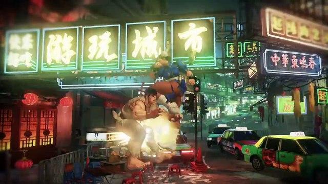 Street Fighter V - In-game footage