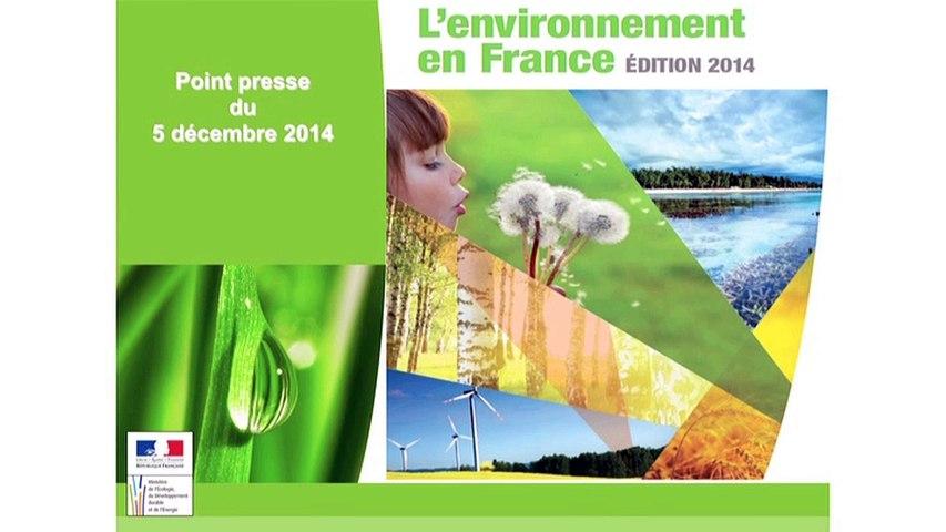 Rapport sur l'état de l'environnement en France 2014 : comprendre et savoir pour bien agir