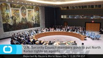 U.N. Security Council Members Push to Put North Korea Rights on Agenda