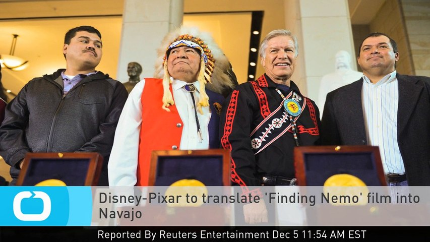 Disney-Pixar to Translate 'Finding Nemo' Film Into Navajo