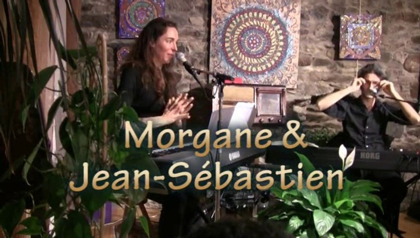 "Jean-Sébastien et Morgane-Duo piano chant ""au coin d'la rue"""