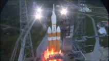 Launch Replays of Orion EFT-1 on Delta IV Heavy, The First Step to Mars