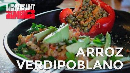 Arroz Verdipoblano | Fast, Healthy & Yummy