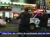 Etats-Unis: 3e nuit de manifestations contre les bavures policières