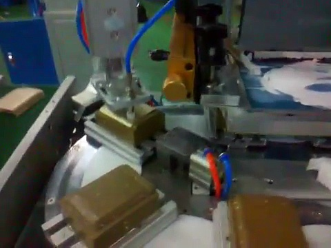 Automatic Cover Flat Screen Printing Machine