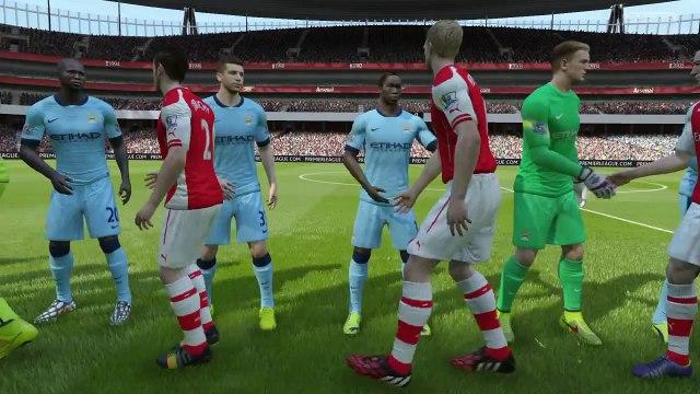 FIFA 15 - Arsenal Premier League - Match 4: Arsenal vs. Manchester City