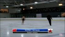 Hope McLean / Trennt Michaud EO - Junior Pair Short Program (REPLAY)