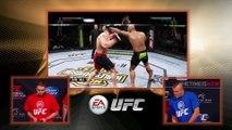 UFC 181: Chuck Liddell and Matt Hughes Play EA Sports UFC