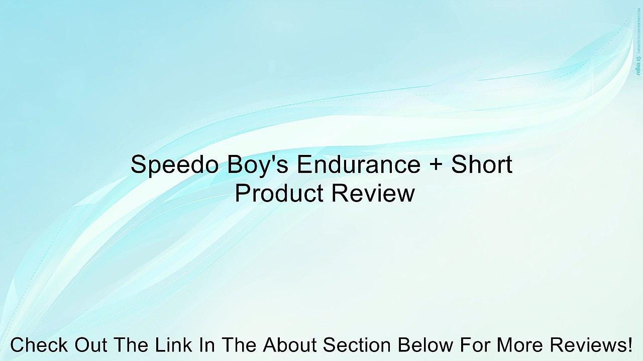 322611f8c007 Speedo Boy's Endurance + Short Review