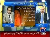 Najam Sethi for the first time Thrashes OUut Nawaz sharif Govt so Badly