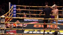Lee Martin knocked out by brutal Michael Devine punch in Prizefighter semi final.