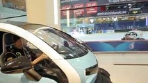 Spectacular In and Out beauty of The Dubai Mall - Lotus F1 Team Driving Renault Twizy in Mall #Dubaimall #F1Team #Dubai