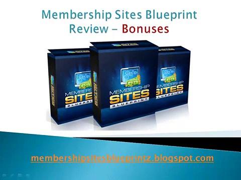 Membership Sites Blueprint