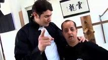 Vincent Parisi Coach l'humoriste BOODER au Wing Chun sur Beinsports dans l'Expresso.