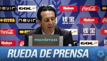 Rueda de prensa de Emery tras el Rayo Vallecano (0-1) Sevilla FC - HD