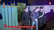 Des caïds de la mafia italienne arrêtés