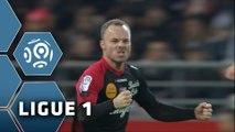But Lars JACOBSEN (33ème) / Stade de Reims - EA Guingamp (2-3) - (SdR - EAG) / 2014-15