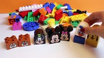 Lego Duplo Mickey Mouse Clubhouse Construction Toys Megabloks Disney Junior Minnie Mouse