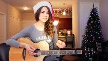 "♥ ""Mistletoe"" - Justin Bieber Guitar Lesson   Guitar Goddess ♥"