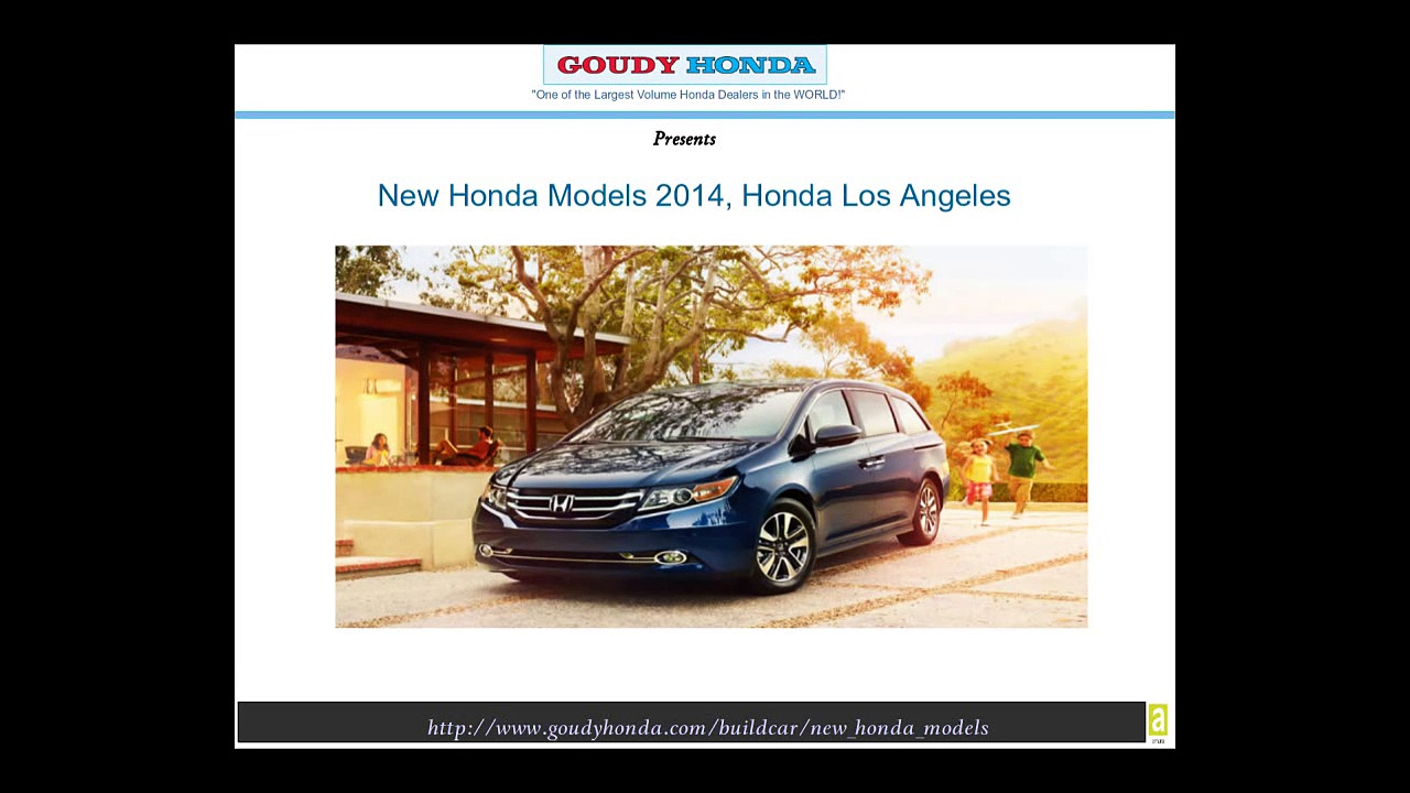 Goudy Honda: New Honda Models 2014, Honda Los Angeles