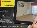 A vendre - appartement - ACHERES (78260) - 3 pièces - 70m²