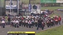 Course de moto la plus rapide et dangereuse du monde : Ulster Grand Prix - Belfast,N.Ireland -  Isle of Man