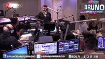 Le best of en images de Bruno dans la radio avec Miss France 2015 (08/12/2014)
