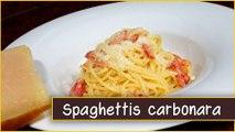 2013-Recette des spaghettis carbonara