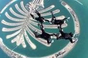 Spectaculaires figures au championnat du monde de saut en parchute