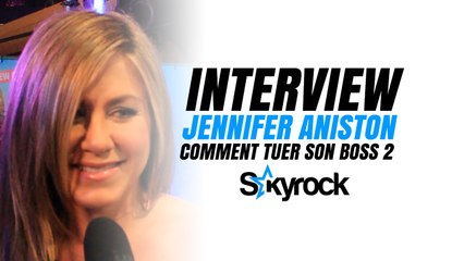 "Interview Red Carpet de Jennifer Aniston ""Comment tuer son boss 2 ?"""