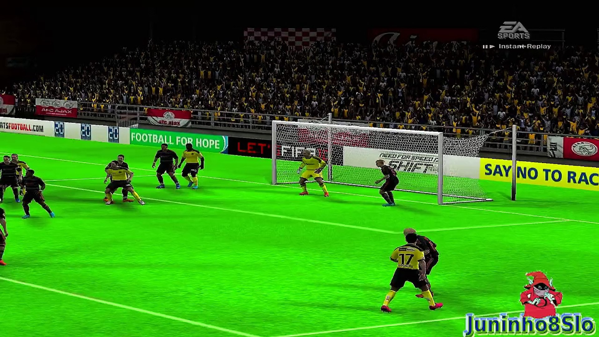 Fifa 10-Manager Mode-BSC Young Boys vs Ajax-Game 52