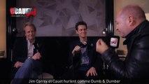Jim Carrey et Cauet hurlent comme Dumb & Dumber - C'Cauet sur NRJ